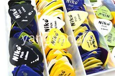 Lots of 50pcs Niko Acoustic Electric Guitar Picks(Assorted Thickness&Colors )