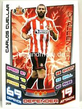 Match Attax 2012/13 Premier League - #259 Carlos Cuellar - Sunderland