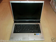 "Samsung NP-R55 Clayton 15,4"" Notebook, ohne HDD, Display gesprungen LESEN"