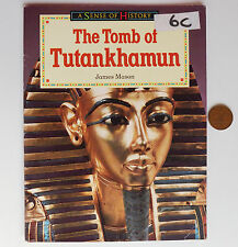 Tomb of Tutankhamun Childrens school history book Ancient Egypt Egyptians 1990s