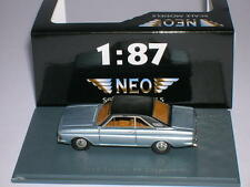 Neo Ford Taunus P6 15M Coupe Modell 1968 silber silver 1:87 Neu + OVP Lim H0