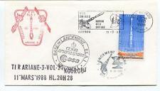 1986 Tirariane-3-Vol-21 Kourou Base Lancement ESA CNES Arianespace Guyane SPACE
