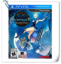 PSV DECEPTION IV: BLOOD TIES SONY PlayStation VITA Koei Tecmo Action Games