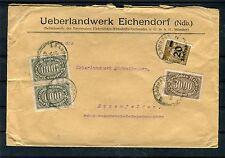 Infla Beleg MiF Ueberlandwerk Eichendorf - b1505