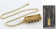 TOMBO NO.1204KN Baby Harmonica Necklace Gold Plated