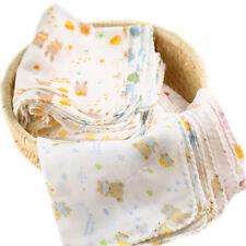 2PCS Newborn Baby Bath Towels Soft Washcloth  Feeding Pinafore Saliva Towel