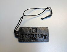Original Perrelet Black Leather Watch Hang Tag