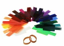20 Color Photographic Color Gels Filter for Sony Canon Nikon Yongnuo Metz Flash