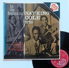 """Vinyle 33T Nat King Cole Trio  """"In the beginning"""""""