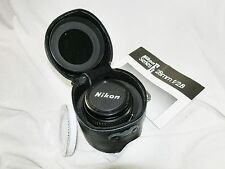 NIKON LENS SERIES E 28mm 1:2.8  No.2064333 WITH LENS HOOD NIKON HN-2