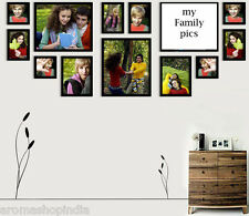Photo Frame With 13 Photo Collages in if Size In Brown Color Frame,Photo Frames
