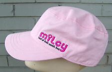 Miley Cyrus Hannah Montana Best Of Both Worlds Tour Pink Hat Painters Cadet