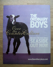 The Ordinary Boys Over the Counter Culture 12 x 10 TRADE MUSIC PRESS ADVERT 2004