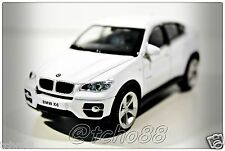 Rastar 1/43 :BMW X6 White Die-cast toys gifts Hobby cars Collectible new in box