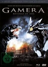 BLU-RAY + DVD GAMERA 3 - REVENGE OF IRIS - LIMITED SPECIAL EDITION - MEDIABOOK *