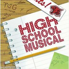 HIGH SCHOOL MUSICAL 2 SMALL NAPKINS (16) ~ Birthday Party Supplies Beverage Cake