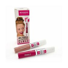 Bourjois Duo Smile Enhancing 2 X Lip Gloss With Tooth Brightening Gel
