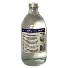 Oil Pulling - Fractionated Coconut Oil natural organic mouthwash 500ml