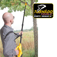 Tornado Tools 18V Cordless 8-Inch Electric Pole Saw with 15-Foot Reach