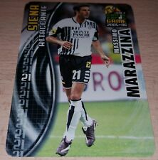 CARD CALCIATORI PANINI 2005-06 SIENA MARAZZINA CALCIO FOOTBALL SOCCER ALBUM