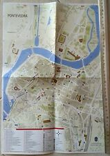 Sheet Map Pontevedra Spain Including Street Name Indexes