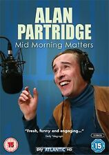Alan Partridge Mid Morning Matters DVD New and Sealed Original UK Release R2