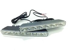 Universal 6 LED 18cm DRL Lights Daytime Running 12V Xenon White Citroen 2016