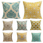 Simple Fashion linen Throw Pillow Cases Home Decorative Cushion Covers Square RD