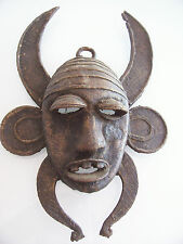 old mask african. . Ancien masque Africain bronze