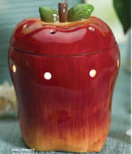 Scentsy Full Size Red Apple Warmer Accent Night Light Discontinued Rare NIB