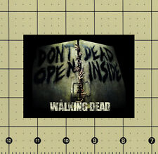 CUSTOM MADE REFRIGERATOR MAGNET THE WALKING DEAD SEASON 1 DON'T OPEN DEAD INSIDE