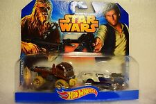 HOT WHEELS STAR WARS TWIN PACK HAN SOLO CHEWBACCA