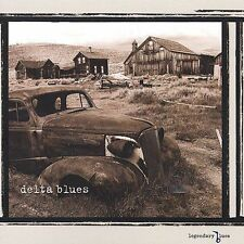 Legendary Blues: Delta Blues by Various Artists (CD, Sep-2002, Columbia River...