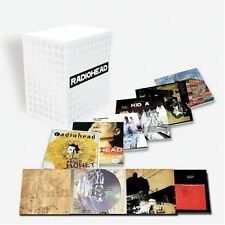 RADIOHEAD, 7 CD ALBUM BOX SET LIMITED EDITION + CD A MOON SHAPED POOL (SEALED)