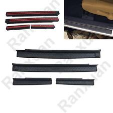 For 2007-2016 JK Jeep Wrangler ABS Plastic Black Door Entry Sill Guards 4 Door