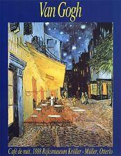van Gogh Poster Kunstdruck Bild Cafe bei Nacht 50x40 cm Kostenloser Versand