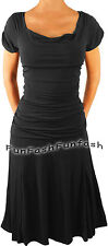 DB3 FUNFASH GOTHIC BLACK PLUS SIZE DRESS COCKTAIL DRESS CRUISE DRESS 2X 22 24