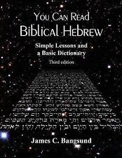 You Can Read Biblical Hebrew : Simple Lessons and a Basic Dictionary by James...