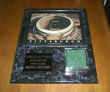 PITTSBURGH STEELERS THREE RIVERS STADIUM TURF PLAQUE