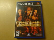 PS2 GAME / PIRATES OF THE CARIBBEAN: LEGEND OF JACK SPARROW (PLAYSTATION 2)
