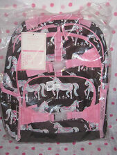 NEW Pottery Barn  Kids LARGE CHOCOLATE PINK UNICORN  Backpack ! RARE FIND!