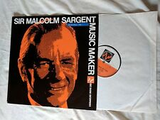 MALCOLM SARGENT – MUSIC MAKER – BBC RADIO ENTERPRISES – RE10 – LP