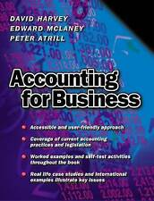 Accounting for Business by David Harvey, Peter Atrill, Edward McLaney (Paperbac…