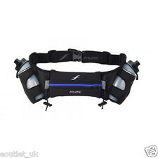 Fitletic Energy Belt Hydration Waist Pack with 2 8oz Bottles Sports/Running BLUE