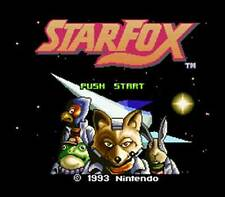 Star Fox - SNES Super Nintendo Game Starfox