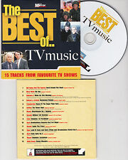 CD CARDSLEEVE COLLECTOR 15T BEST OF TV MUSIC BACH/BILL HALEY/MARY WELLS/MOZART