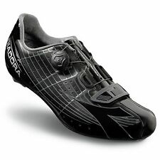 Diadora Speed-Vortex Road/Racer Bike Cycling/Cycle Shoes - Euro 42 - Black