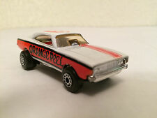 MATCHBOX ORANGE PEEL 74 SUPERFAST 71 LESNEY 70 WHITE DODGE DRAGSTER CHARGER CAST