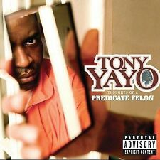Yayo, Tony: Thoughts of a Predicate Felon  Audio Cassette