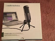 Audio-Technica AT2020 USB Condenser Plug-in Professional Microphone